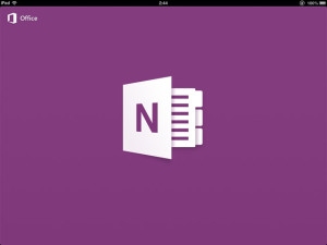 OneNote for iPad、iPhoneがアップデート